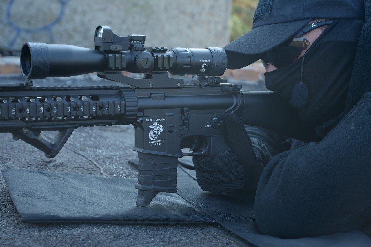 lunette de visée pour sniper d'airsoft